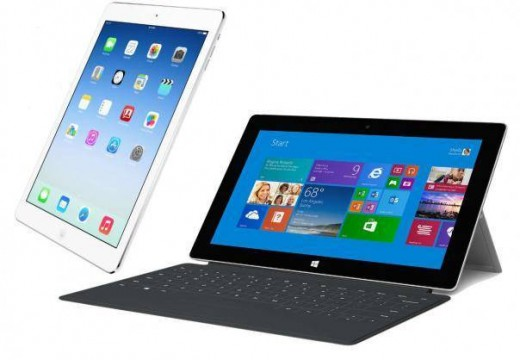Microsoft Surface Pro 3 vs Apple iPad Air2