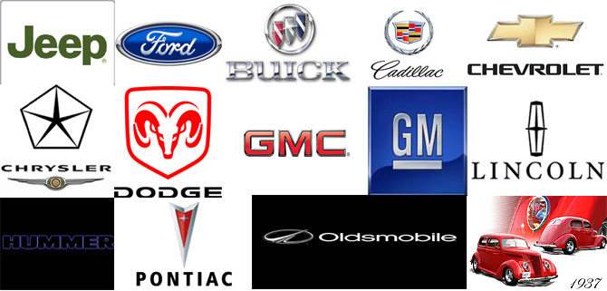 American Car Logos And Their Meanings