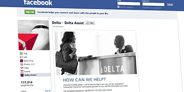 Proactive Customer Service through Facebook