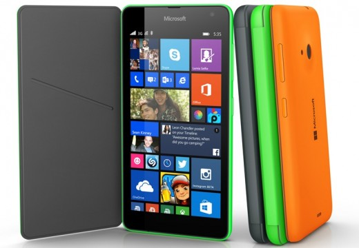 Microsoft Launches The Lumia 535 Smart Phone Without Nokia Branding
