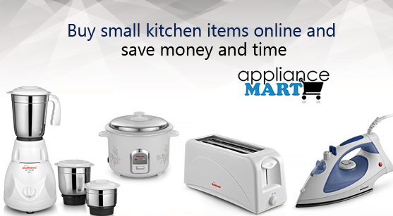 Buy Small Kitchen Items Online and Save Money and Time