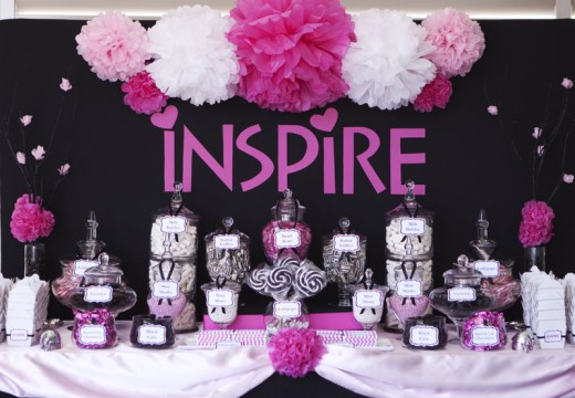 Candy Buffet Bar Design Ideas For A Child's Birthday Party