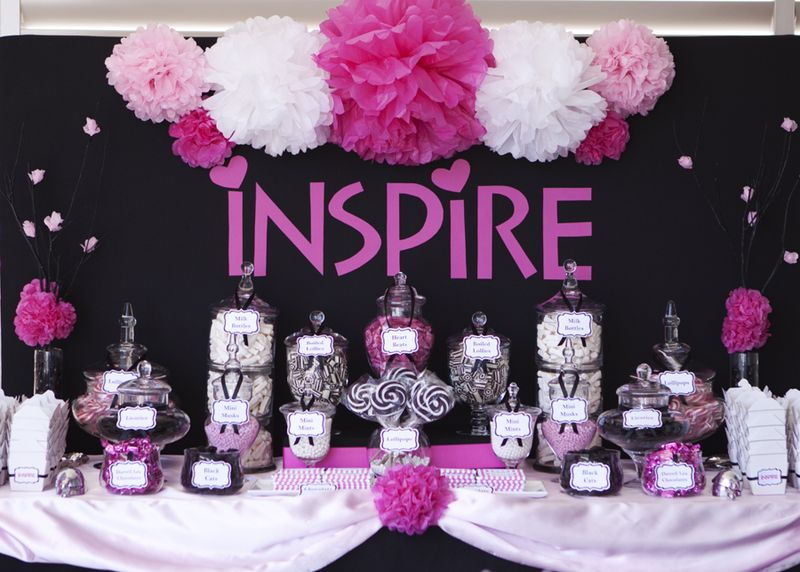 Candy Buffet Bar Design Ideas For A Childs Birthday Party