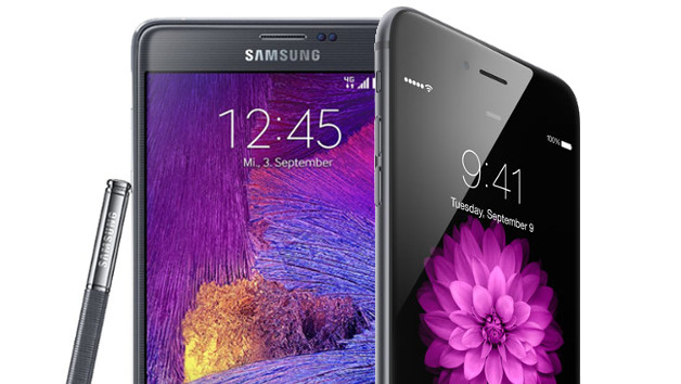 Galaxy Note 5 vs iPhone 6 Plus