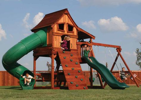 Give Your Child A Reason To Play Outdoors With Congo Swing Sets