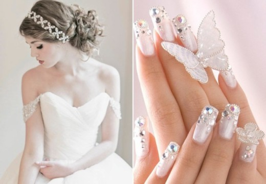 Perfecting Your Hair and Nails For Your Wedding