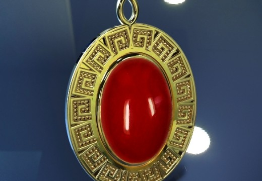 Red Coral Stone Signifies Strength