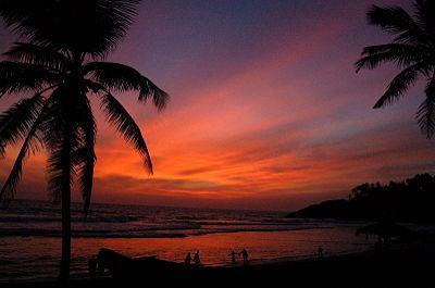 Beautiful Sand Dunes In Thiruvananthapuram Of Kerala- Kovalam Beach