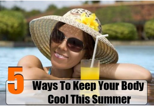 5 Ways To Keep Cool In Summer