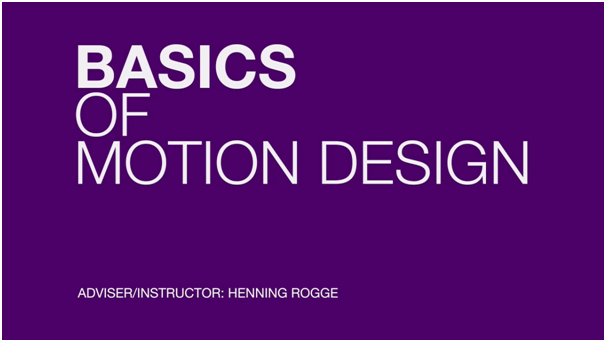The Basics Of Motion Design