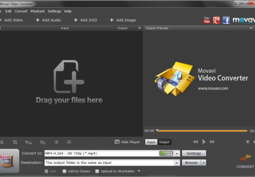 Making Video Files Smaller With The Movavi Video Converter