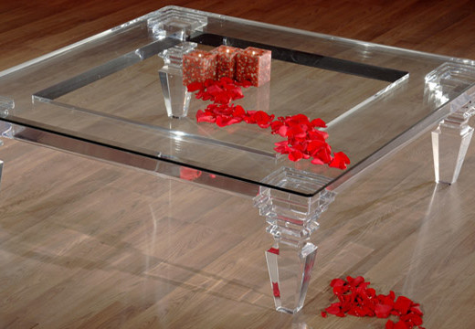 Decoration Ideas With Acrylic Furniture