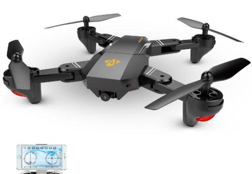 VISUO XS809W Foldable Selfie Drone