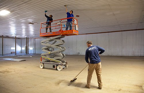Cleaning construction spaces are necessary