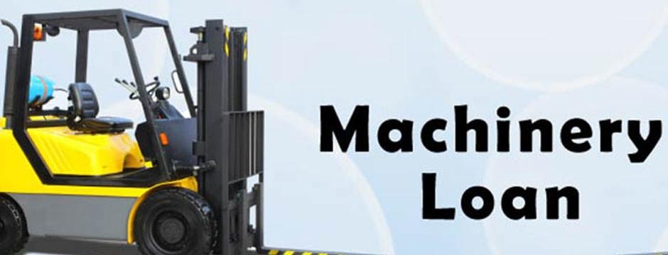 machinery loan interest rate